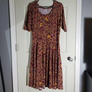 XL floral nichole dress